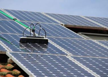 Professionelle Solarzellenreinigung